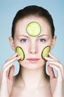 Concombre - beauté du visage