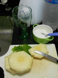 Jus d'ananas - Préparation