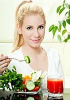Prévention syndrome prémenstruel alimentation saine