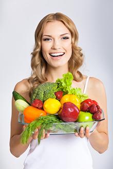 cholestérol manger des fruits et légumes