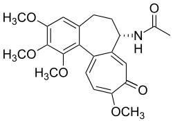 molécule de colchicine