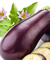 Nutrition aubergine