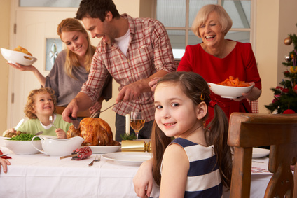 Les personnes souffrant d'allergies alimentaires souffrent davantage pendant les fêtes
