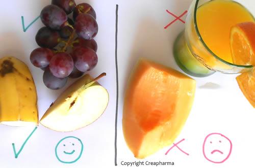 La plupart des fruits diminuent le risque de diabète, mais pas les jus